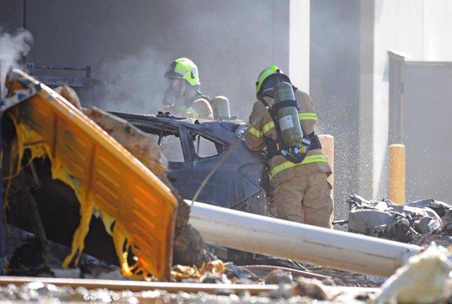 Accidente de avioneta cerca del aeropuerto en el norte de Melbourne, Australia