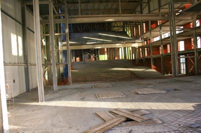 Imagen del interior del auditorio de Puerto Lumbreras