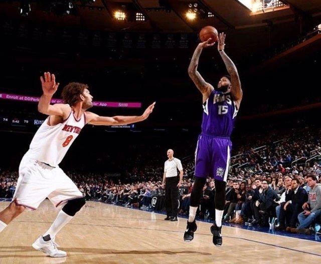 DeMarcus Cousins en el Kings - Knicks