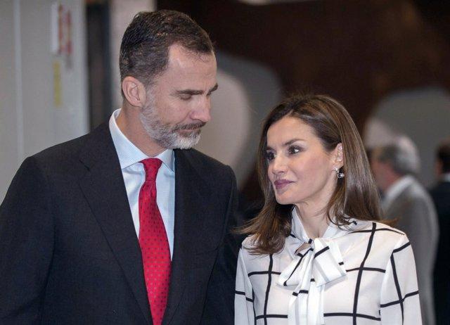 El Rey Felipe VI y la Reina Letizia/ José Oliva