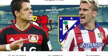 Horario y dónde ver el Bayern Leverkusen – Atlético de Madrid | Ida de...