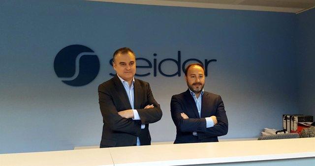 Alejandro Daniel y Eduard Farga (Seidor)