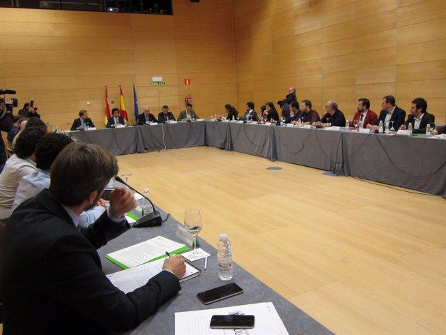 Reunión Consejo Interterritorial de Juventud con Ceniceros