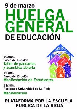 Programa de actos para el 9 de marzo