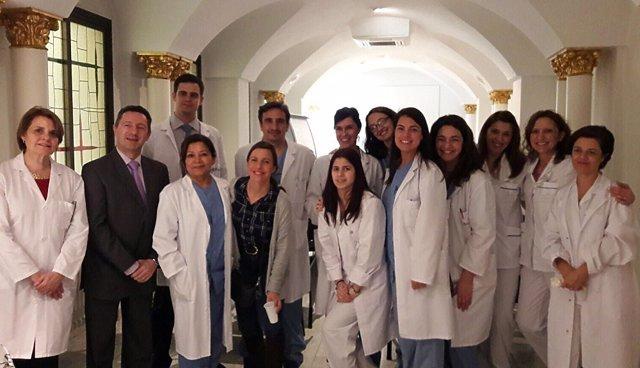 En la imagen, el equipo de la URHA del Complejo Hospitalario Ruber Juan Bravo