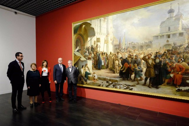 Exposición del Museo Ruso en Málaga