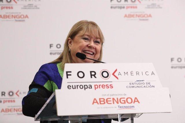 Encuentro Informativo de Europa Press con Susana Malcorra, Ministra de relacione