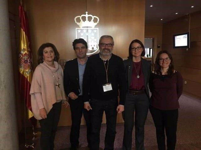 Vicente Pizcuetam portavoz de la Unión Empresarial por la Promoción Turística