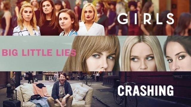 Big Little Lies, Girls y Crashing