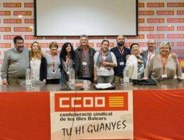 Ejecutiva de FSS-CCOO en Baleares