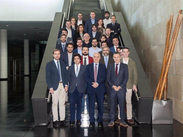 Participantes en el Consejo Interterritorial de Juventud en Logroño