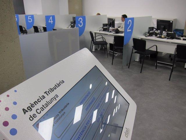 Oficina de la Agencia Tributaria de Catalunya (ATC) para el Barcelonès Nord