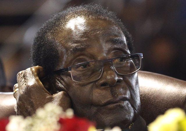 El presidente de Zimbabue, Robert Mugabe