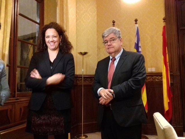 Catalina Cladera y Guillem Luis, comisión expertos
