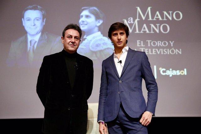José Ribagorda y Roca Rey participan en el Mano a Mano de Cajasol