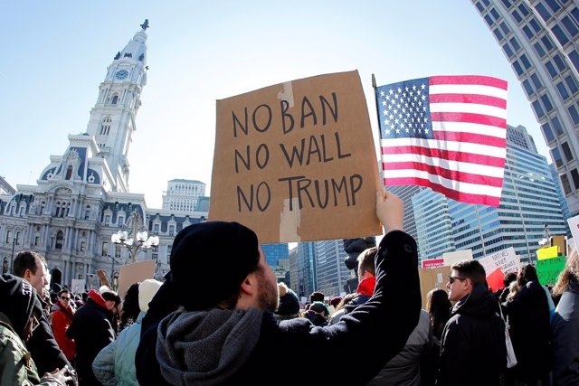 Protestas contra Donald Trump en Estados Unidos