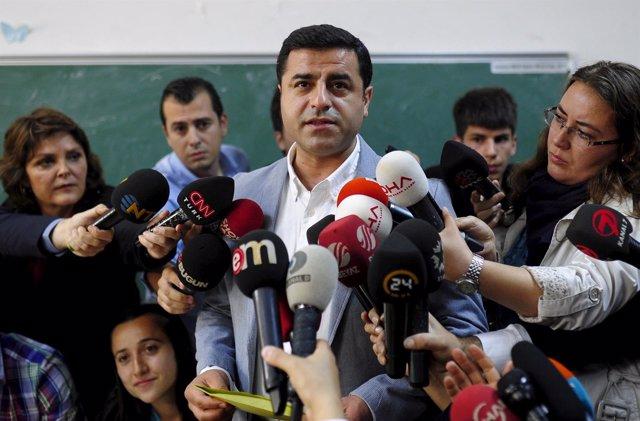 El copresidente del HDP, Selahattin Demirtas