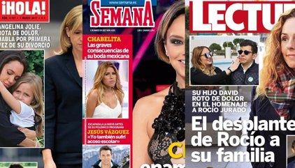 La nueva vida de la Infanta, la reaparición de Angelina, el desplante de Rociíto y el nuevo amor de Chenoa