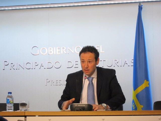 El consejero de Presidencia, Guillermo Martínez