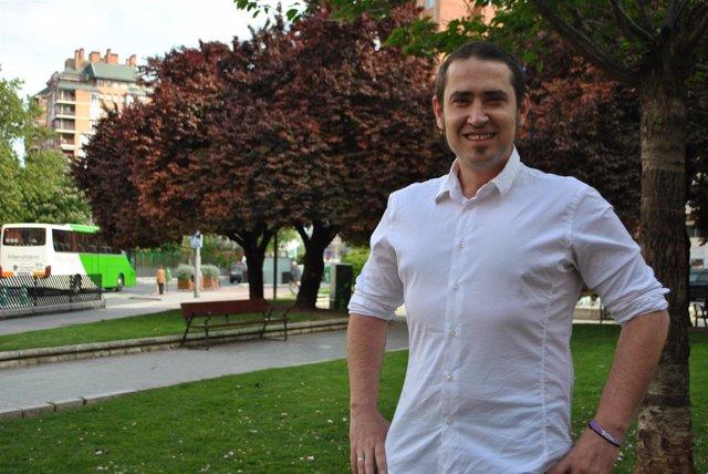 Kiko Garrido, candidato a secretario general de Podemos La Rioja