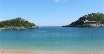 La playa de La Concha de San Sebastián, la sexta mejor del mundo y la...