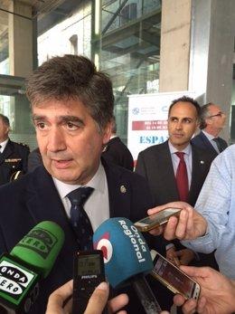 Ignacio Cosidó, en Cartagena