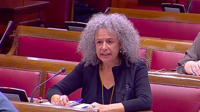 Margalida Quetglas, senadora de Podemos por Mallorca
