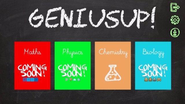 Captura del videojuego 'GeniusUp' hecho en la UIB