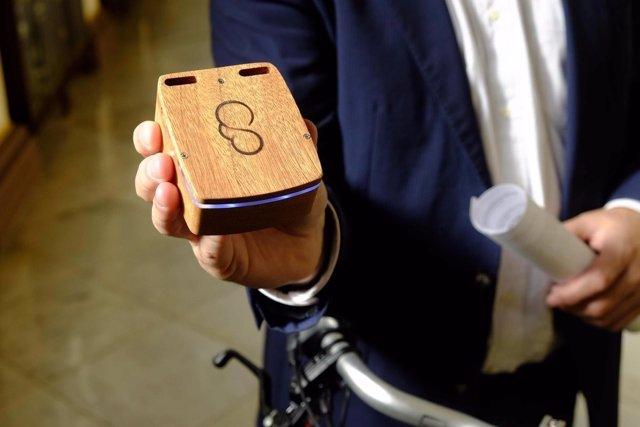 Sensor bicicleta medición calidad del aire málaga capital proyecto urban clouds