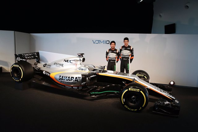 Presentación del equipo Force India 2017