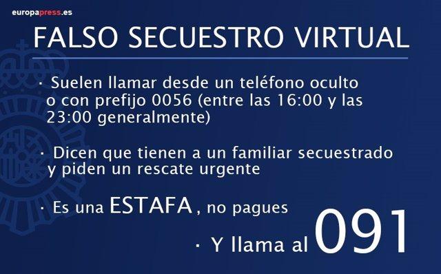 Falso Secuestro Virtual