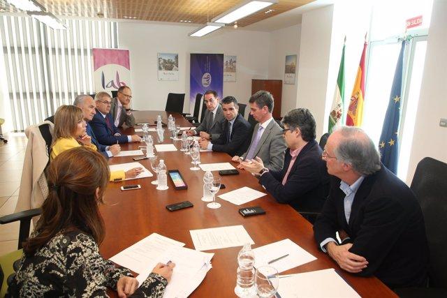 Comisión permanene de foro de turismo de Marbella