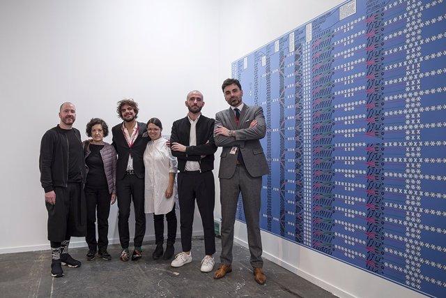 Nota, Fotos Y Audio: La Comunidad De Madrid Premia En Arco A Los Artistas Julia