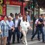 Susana Díaz cierra con Cuenca su ronda de reuniones con alcaldes de capitales