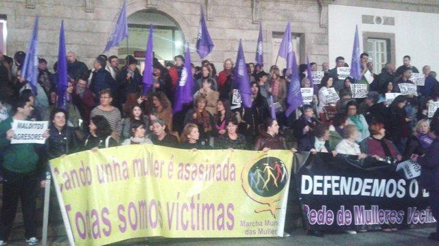 Concentración Vigo Chapela