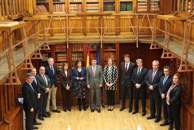 El ministro Rafael Catalá preside la Sectorial de Justicia