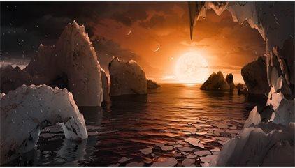 VÍDEO Así son los siete mundos del sistema solar TRAPPIST1