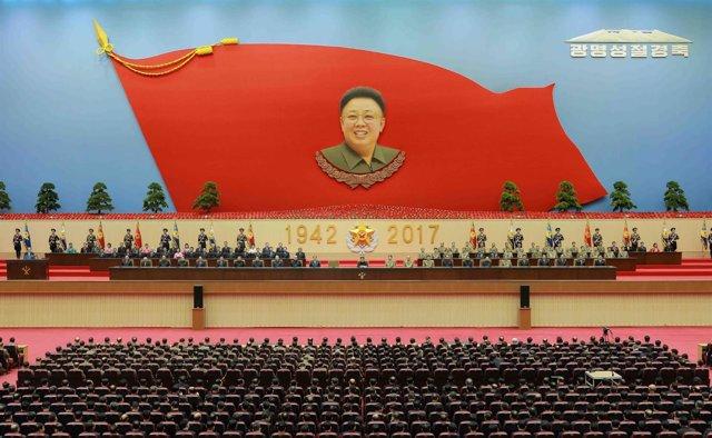 El padre del actual líder norcoreano, Kim Jong Il
