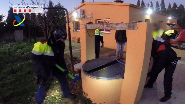 Operación contra una organización de tráfico de marihuana en Figueres