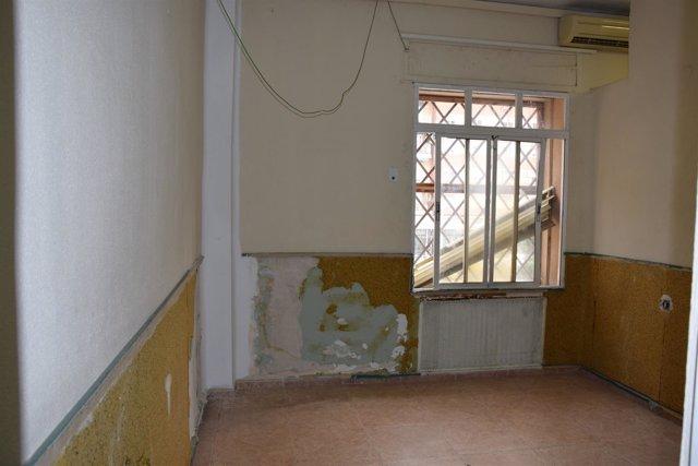 Estado centro de discapacitados psíquicos Guadalmedina Málaga
