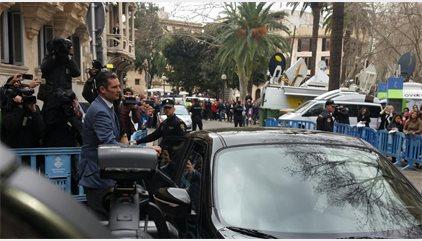La Audiencia de Palma deja a Urdangarin en libertad provisional sin fianza