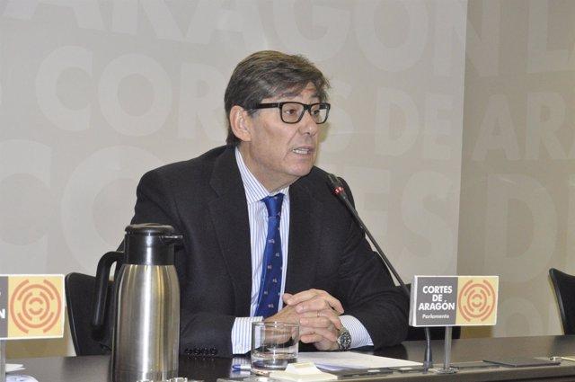 El presidente del Partido Aragonés, Arturo Aliaga