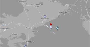 Registrado un terremoto de magnitud 3,3 en Tomelloso