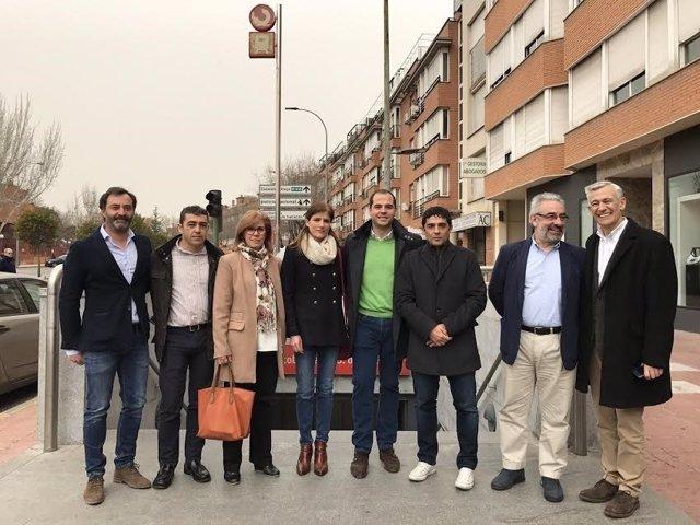 Ciudadanos en San Sebastián de los Reyes
