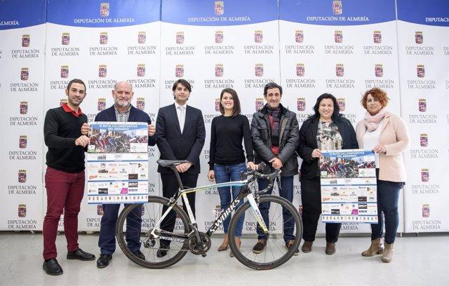 La Ruta Ciclodeportiva del Andarax cumple ya seis años recorriendo la comarca.