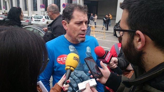 Juan Carlos Asenjo, de CCOO