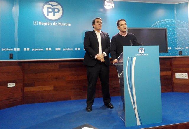 Teodoro García en sede del PP
