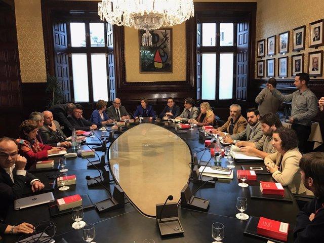 Mesa de portavoces del Parlament