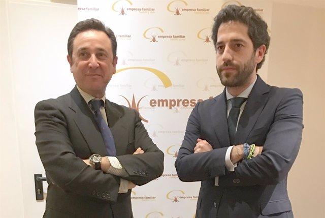 VALLADOLID. Manuel Bermejo (i) y César Pontvianne (d)