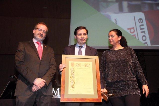 La Diputación de Málaga premia a Europa Press por sus 25 años en Andalucía